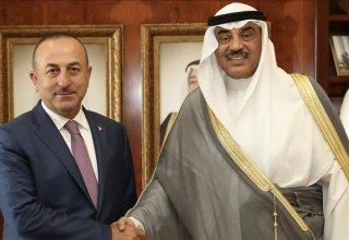 Çavuşoğlu Kuveytli mevkidaşıyla görüştü