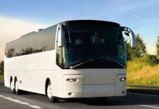 В направлявшемся в Иран автобусе с азербайджанскими паломниками произошел пожар