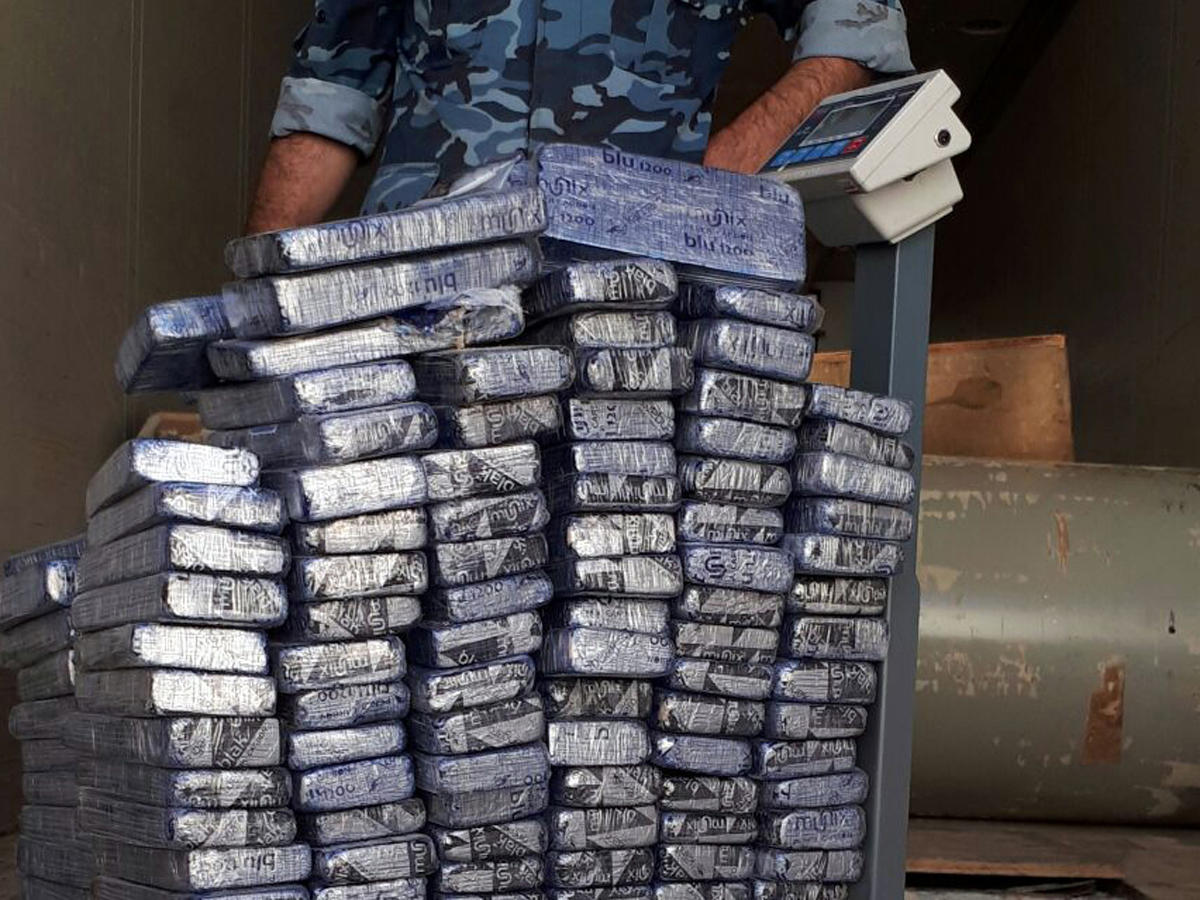 Nearly 60 kg of drugs seized in southwest China