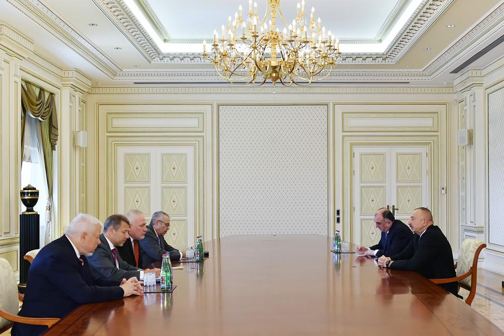 Ilham Aliyev: Armenia tries to disrupt Minsk Group co-chairs' activity at all costs (UPDATE)
