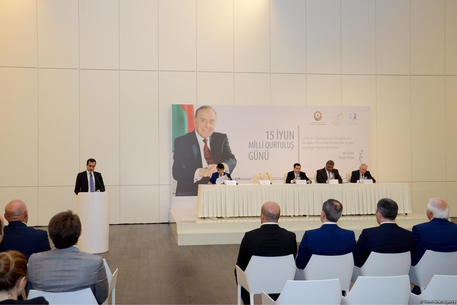 Official: Youth to achieve success thanks to policy pursued by President Ilham Aliyev, First VP Mehriban Aliyeva (PHOTO) - Gallery Image