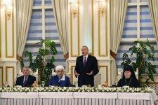 Prezident İlham Əliyev müqəddəs Ramazan ayı münasibətilə iftar mərasimində iştirak edib (FOTO) (Yenilənib 2) - Gallery Thumbnail