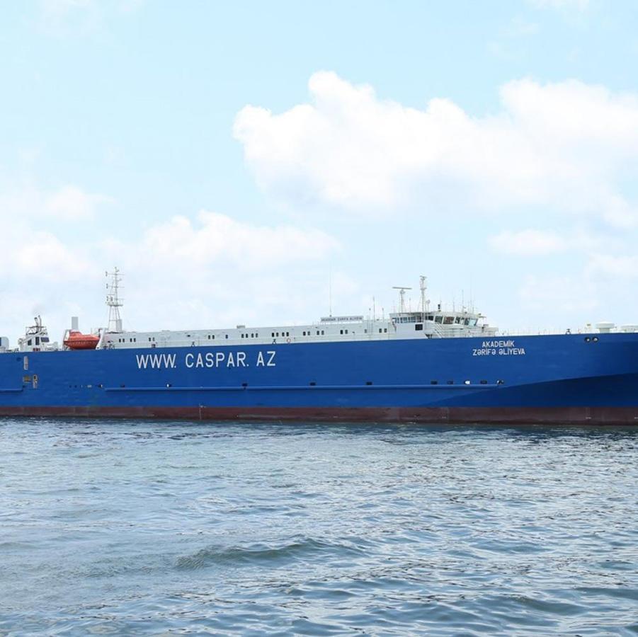 Azerbaijan Caspian Shipping overhauls large ferry (PHOTO) - Gallery Image