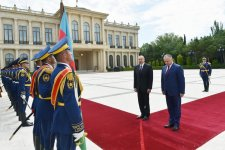 Official welcoming ceremony held for Moldovan president (PHOTO) - Gallery Thumbnail