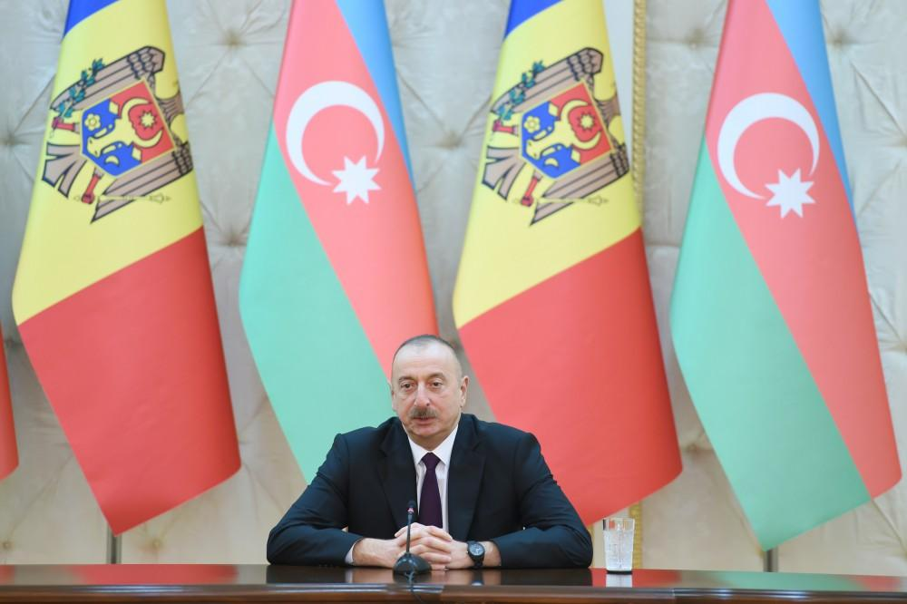 Ilham Aliyev: Azerbaijan, Moldova outline ways for further joint activities