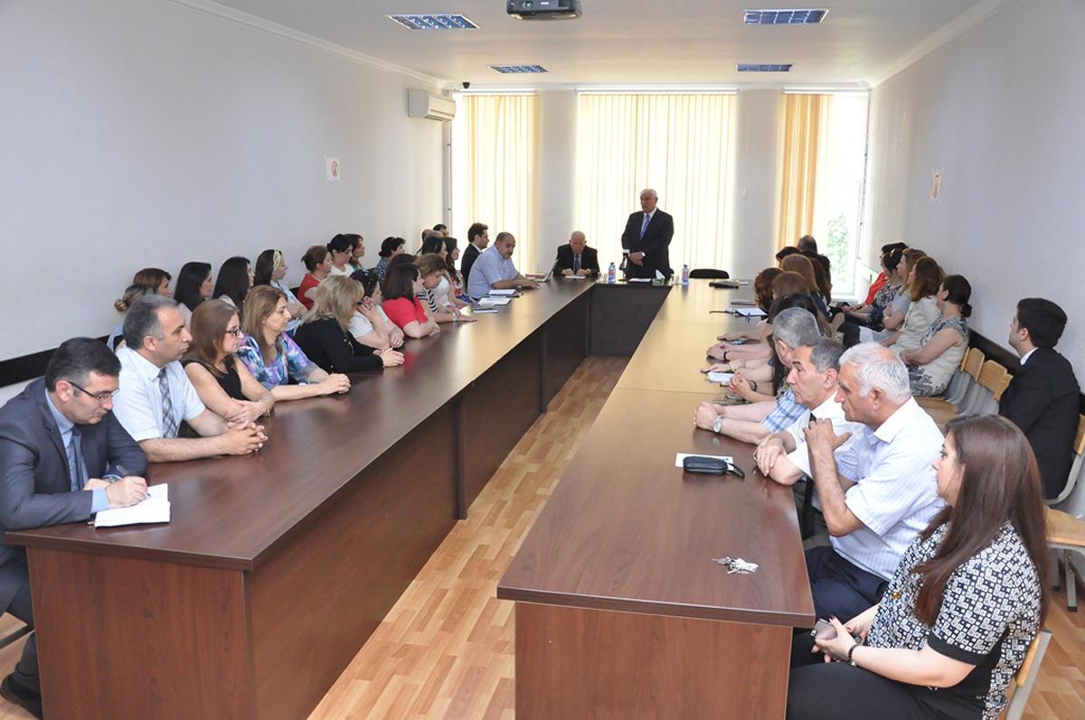 """ADU-da """"Azərbaycan ordusunda tolerantlıq"""" mövzusunda tədbir keçirilib (FOTO) - Gallery Image"""