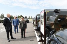 Ilham Aliyev opens Internal Troops' military unit in Shirvan (PHOTO) - Gallery Thumbnail