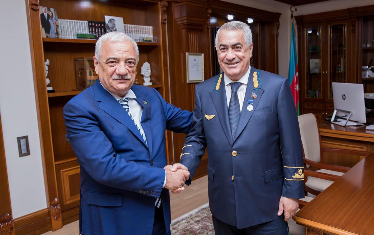 Cavid Qurbanov AHİK-in medalı ilə təltif olunub (FOTO)