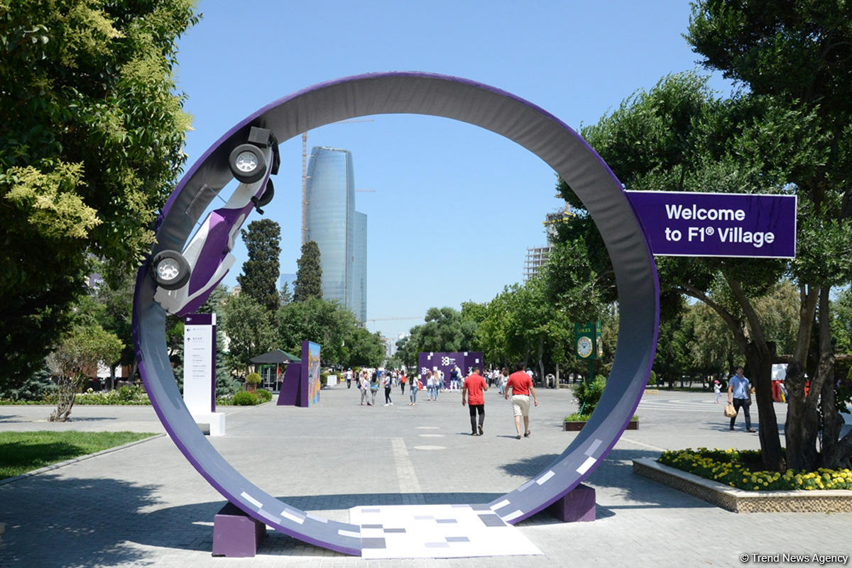 F1 Village entertainment zone in Baku as caught on camera (PHOTO)