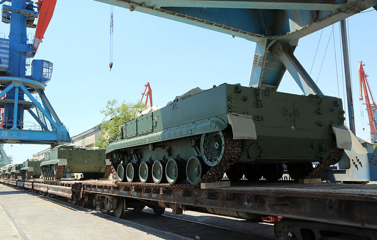 Russian weapons delivered to Azerbaijan to be sent to frontline: Defence Ministry (PHOTO, VIDEO) - Gallery Image