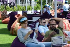 F1 Village entertainment zone in Baku as caught on camera - Gallery Thumbnail