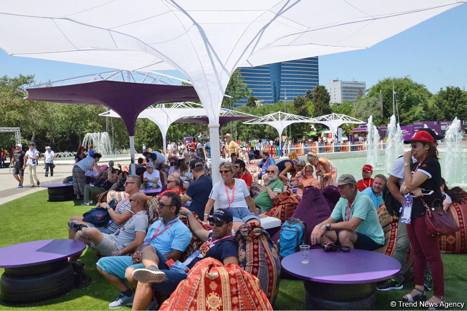 F1 Village entertainment zone in Baku as caught on camera - Gallery Image