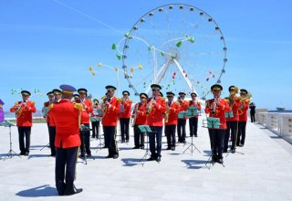 Military bands to perform on occasion of Day of Azerbaijani Armed Forces in Baku