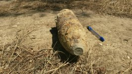 Unexploded artillery shell detected in Baku (PHOTO) - Gallery Thumbnail