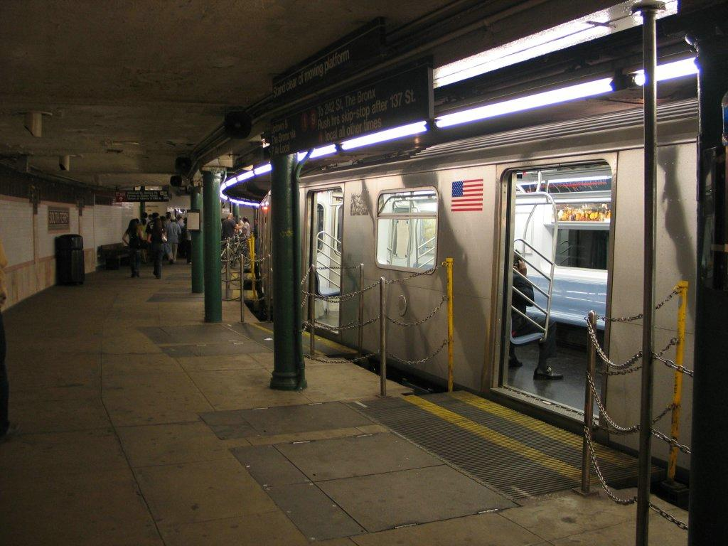 At least 34 injured after New York city subway train derails