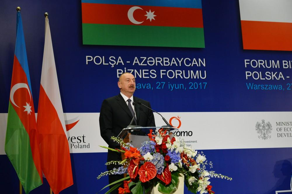 Ilham Aliyev: Azerbaijan reliable partner in oil deliveries to European markets
