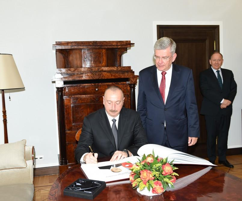 President Aliyev met with Marshal of Polish Senate (PHOTO) - Gallery Image