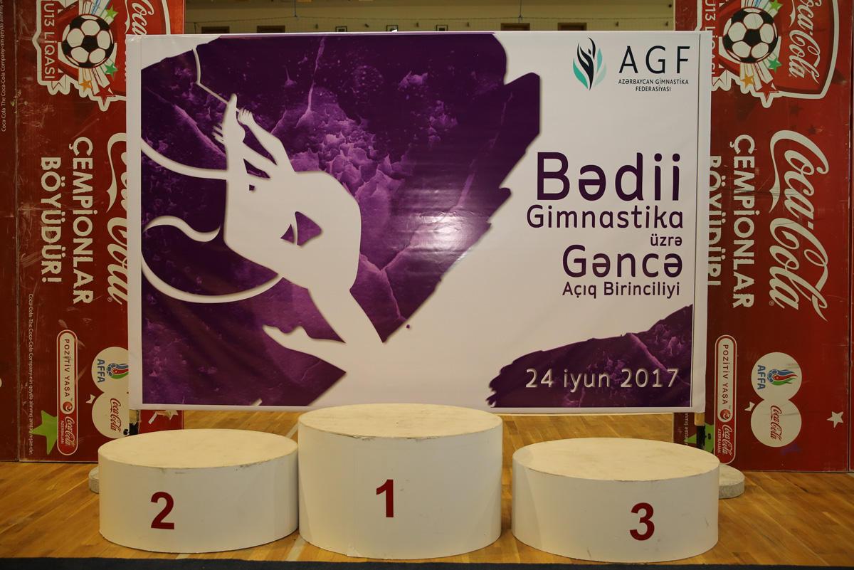 Bədii gimnastika üzrə Gəncə açıq birinciliyi başa çatıb (FOTO) - Gallery Image