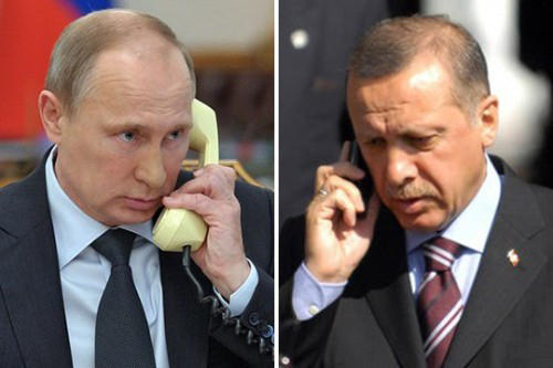 Turkish, Russian presidents to have phone conversation today