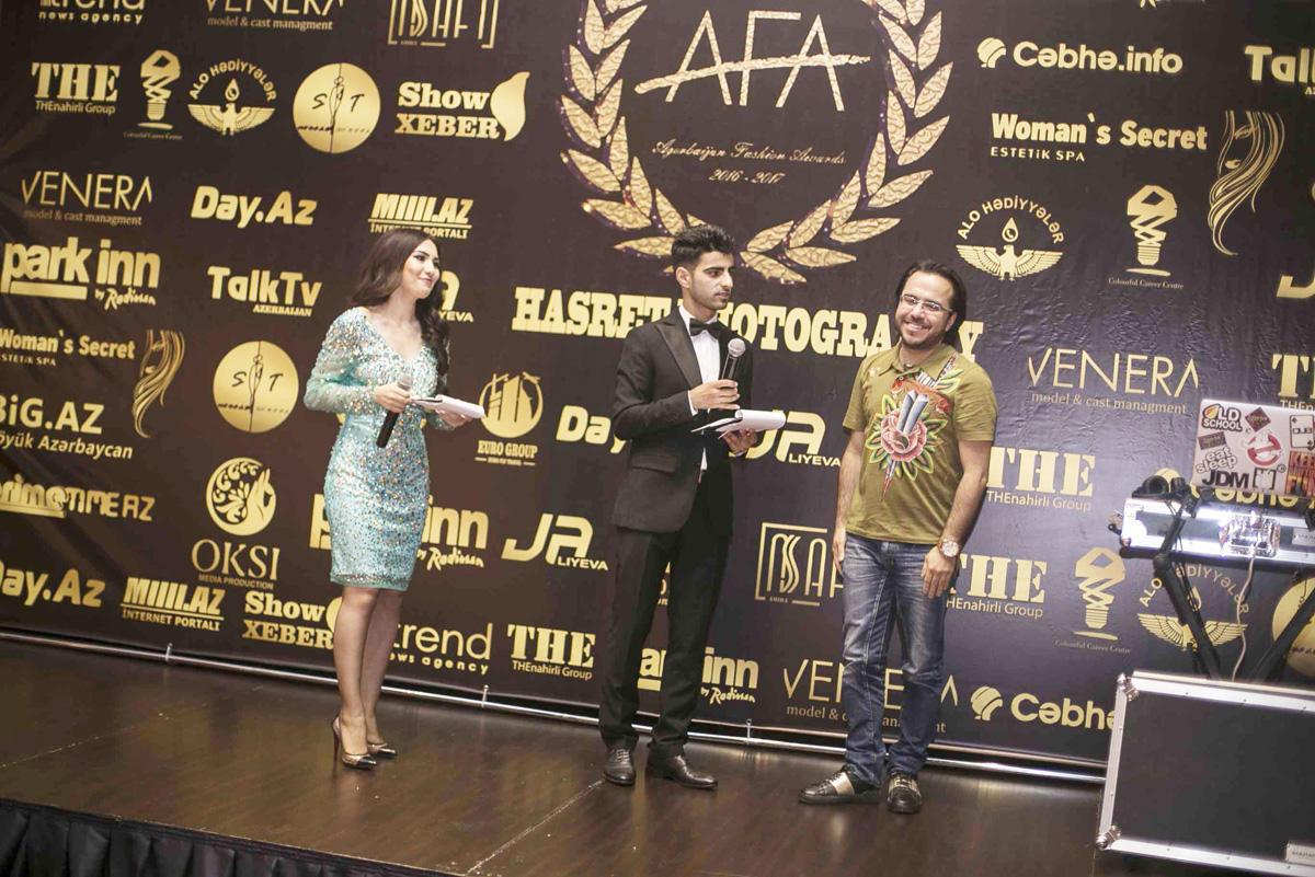 """""""Azerbaijan Fashion Awards""""ın mükafatlandırılma mərasimi keçirilib (FOTO) - Gallery Image"""