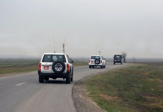 OSCE monitoring on line of contact of Azerbaijani, Armenian troops ends without incidents