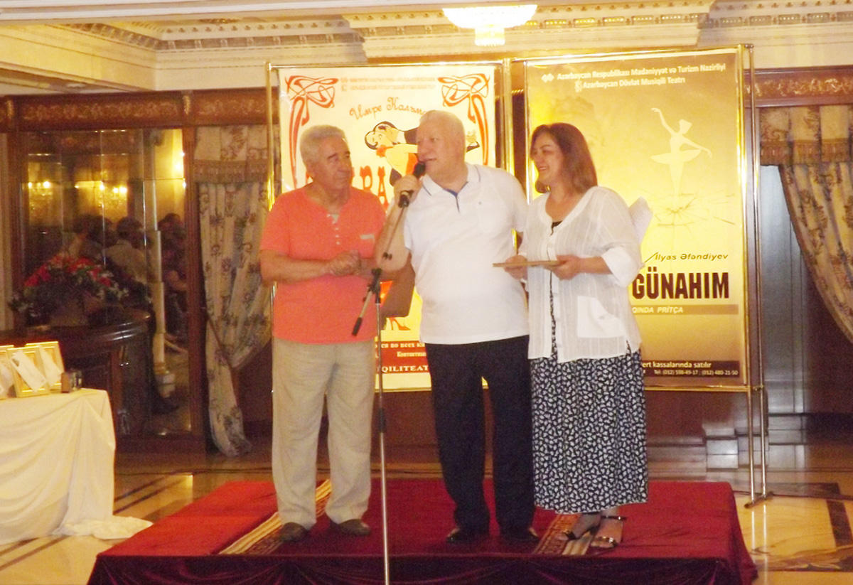 Названы лучшие азербайджанские актеры музыкального театра (ФОТО) - Gallery Image
