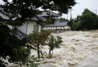 7 dead due to heavy rains, flooding in southwestern Japan