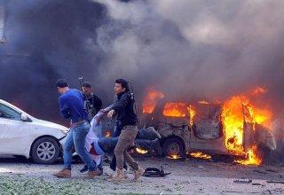 Suriyada partlayış baş verib, 7 nəfər ölüb
