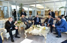 Ilham Aliyev meets heads of state, gov't of countries at 22nd World Petroleum Congress (PHOTO) - Gallery Thumbnail