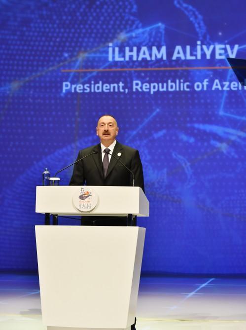 Президент Ильхам Алиев принял участие в XXII Всемирном нефтяном конгрессе в Стамбуле (ФОТО) - Gallery Image