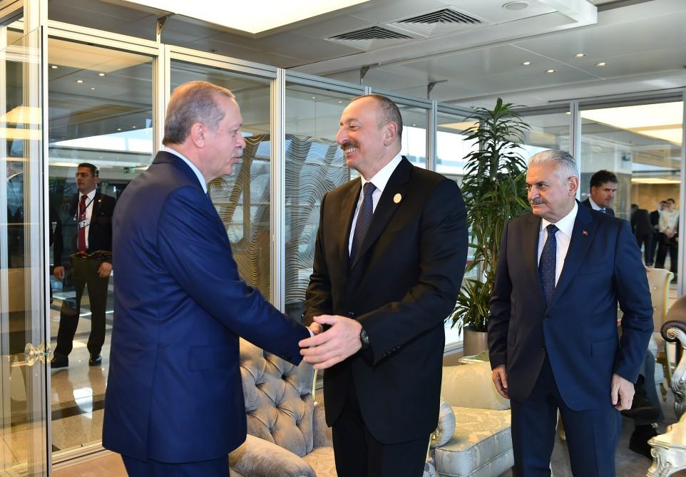 Ilham Aliyev meets heads of state, gov't of countries at 22nd World Petroleum Congress (PHOTO) - Gallery Image