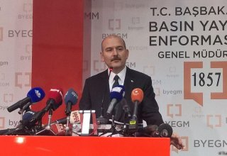 Interior minister: Turkey to further fight terrorism