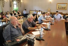 """В Тбилиси презентована книга """"Палитра азербайджанцев мира"""" (ФОТО) - Gallery Thumbnail"""