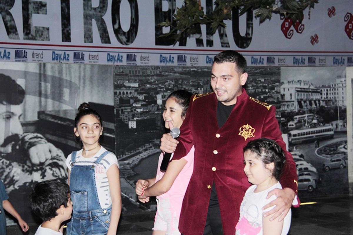 Азербайджанские звезды в проекте Retro Bakı (ФОТО) - Gallery Image