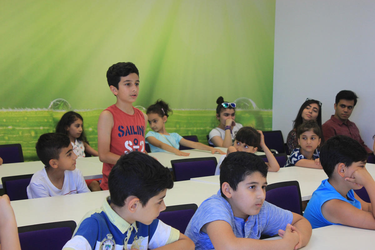 """Azercell starts """"Coding Kids – Summer IT School"""" free project (PHOTO) - Gallery Image"""