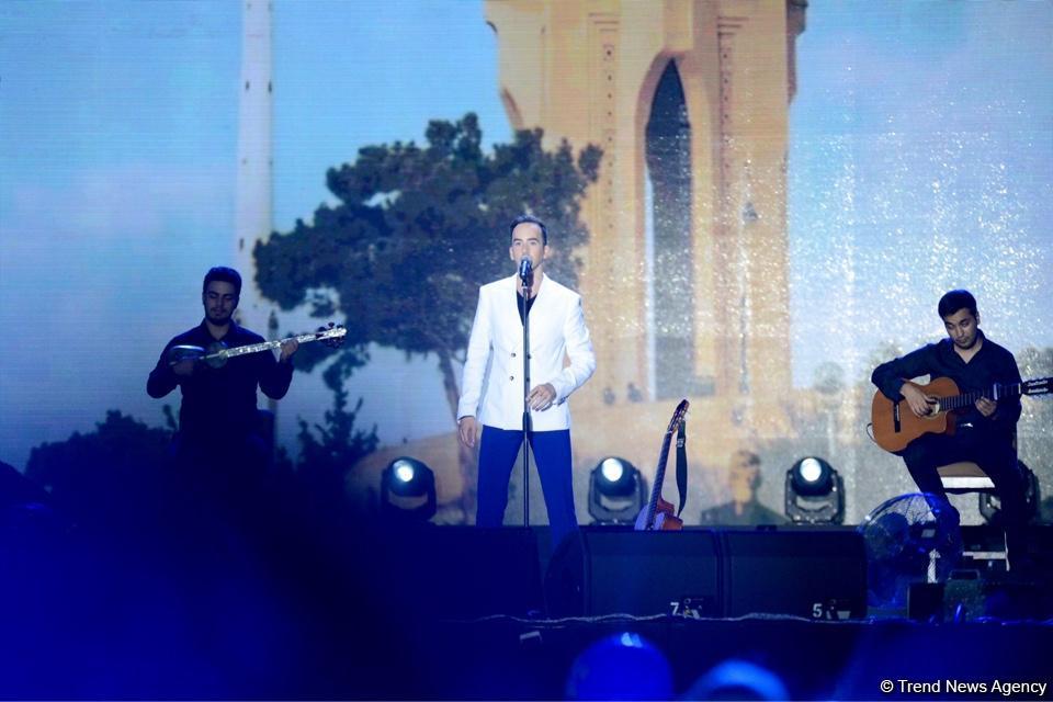 """Xəzərin sahilində """"Jara-2017"""" musiqi festivalının möhtəşəm açılış mərasimi keçirilib (FOTO) - Gallery Image"""