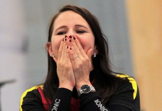 Germany's Karsch wins gold medal of European Shooting Championship