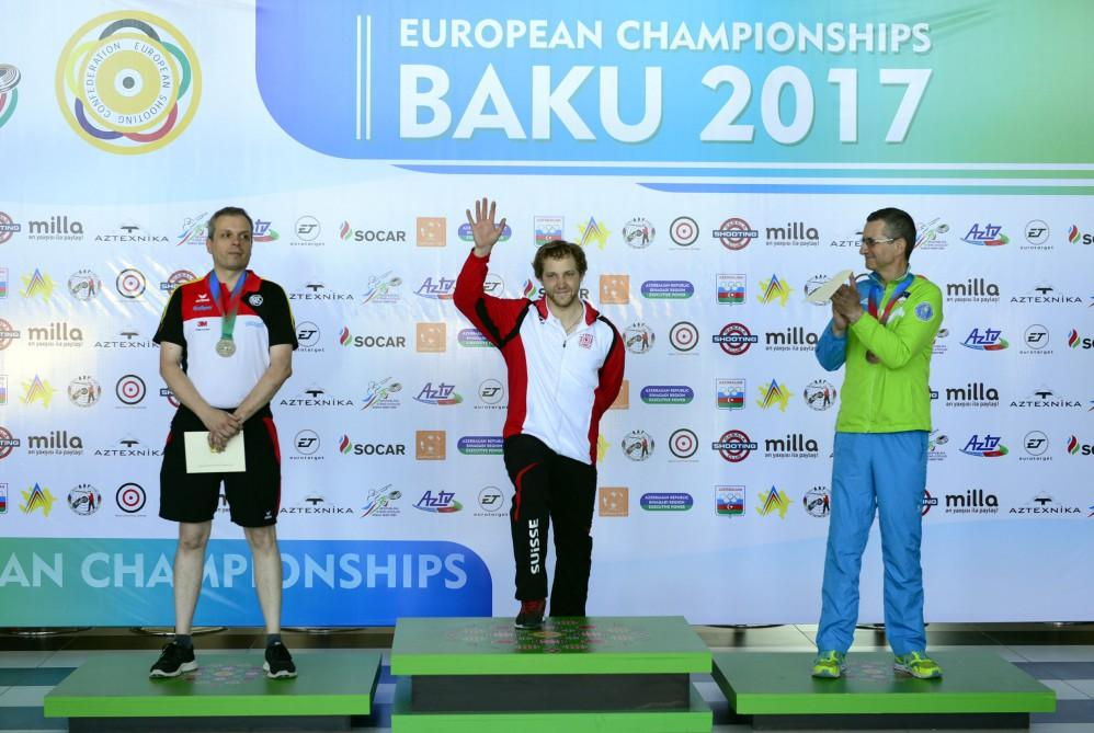 Swiss shooters grab gold in 300m Standard Rifle event in Baku