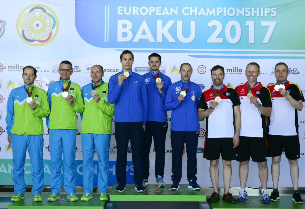 France claim European gold in 300m Rifle Prone event