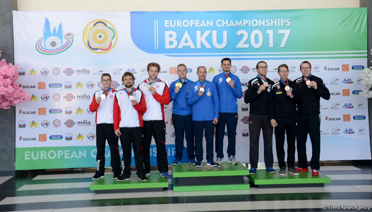 Интересные кадры с чемпионата  Европы по стрельбе в Баку (ФОТО) - Gallery Image