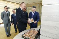 """Prezident İlham Əliyev Balakəndə """"ABAD Mərkəz""""in açılışında iştirak edib (FOTO) (YENİLƏNİB) - Gallery Thumbnail"""