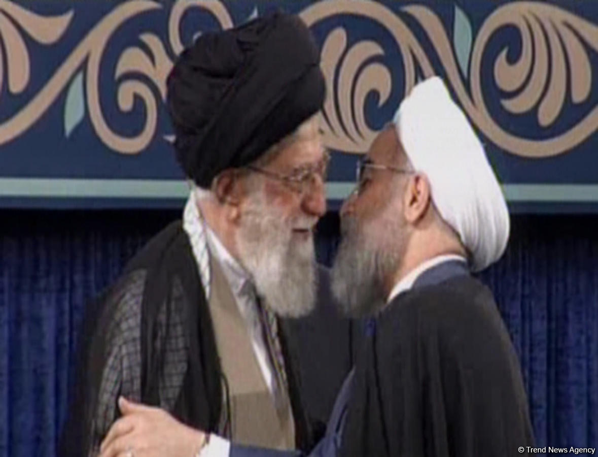 Supreme Leader endorses Rouhani as Iran's President (PHOTO) - Gallery Image