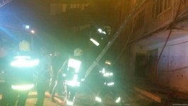 Fire in dormitory in Sumgayit, casualties reported (PHOTO) - Gallery Thumbnail