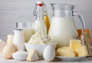 Volume of dairy products imported to Georgia decreases