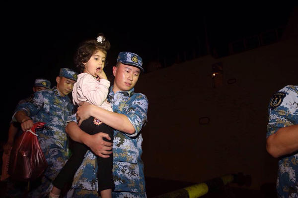 Over 31,000 tourists evacuated from China's soutwester Sichuan after earthquake