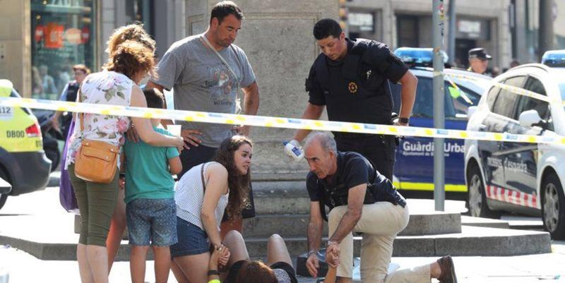 130 people injured in Catalonia attacks