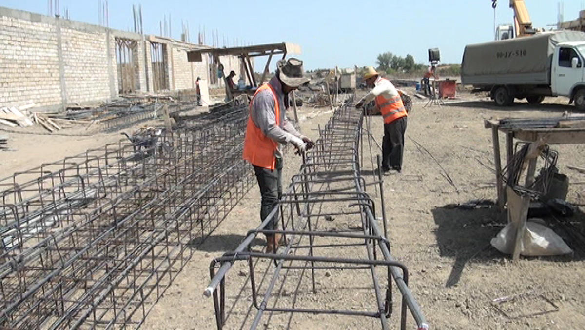 Construction works in Masalli Industrial Zone to be completed in 1Q18 (PHOTO)