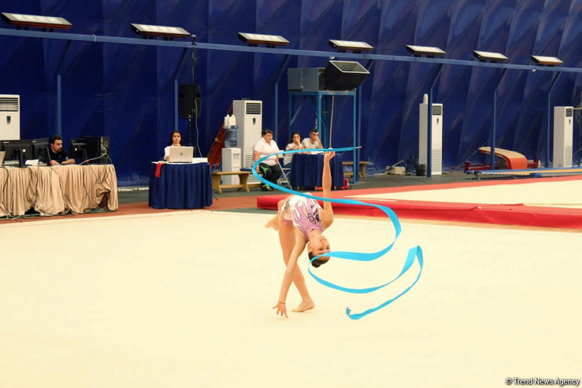 24th Open Azerbaijan Rhythmic Gymnastics Championship kicks off (PHOTO) - Gallery Image