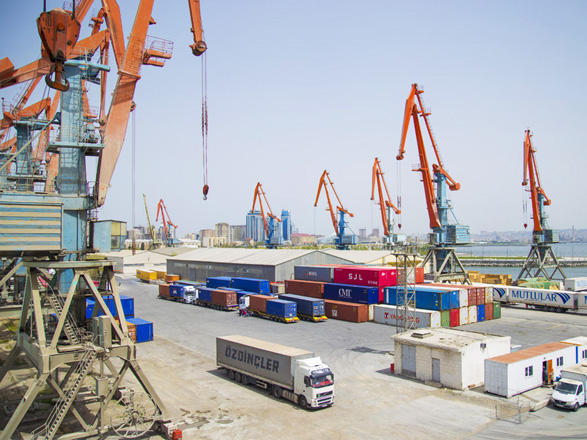 Port of Baku operates another cargo freight from China to Turkey