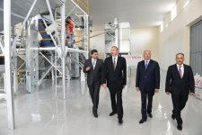 Ilham Aliyev attends opening of cereals & pulses cleaning-packing complex in Jalilabad (PHOTO) - Gallery Thumbnail